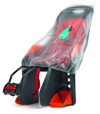 Pokrowiec na fotelik rowerowy montowany z tyłu