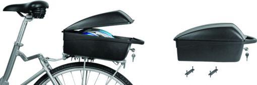 Kufer rowerowy na bagażnik