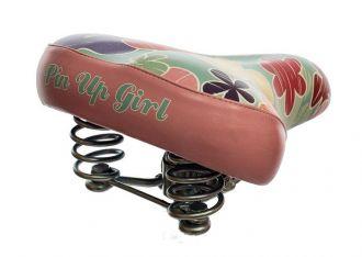 Siodełko rowerowe Pin Up Girl FLOWER --- MODEL 2015 !!!