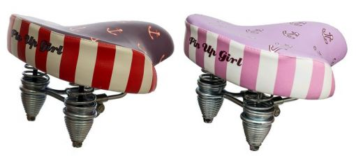 Siodełko rowerowe Pin Up Girl FLEET --- MODEL 2015 !!!