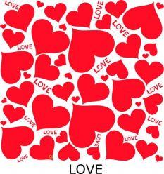 Siodełko Cruiser - motyw LOVE
